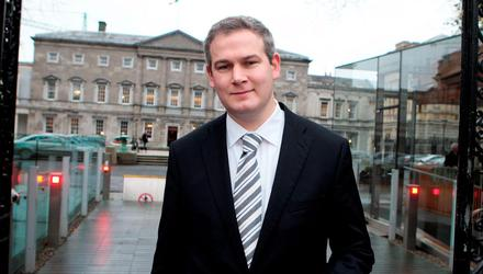 Former Minister of State for Gaeltacht Affairs and Natural Resources, Sean Kyne Photo: Tom Burke