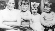 Jean McConville pictured with three of the children before she disappeared in 1972. Photo: Pacemaker Belfast