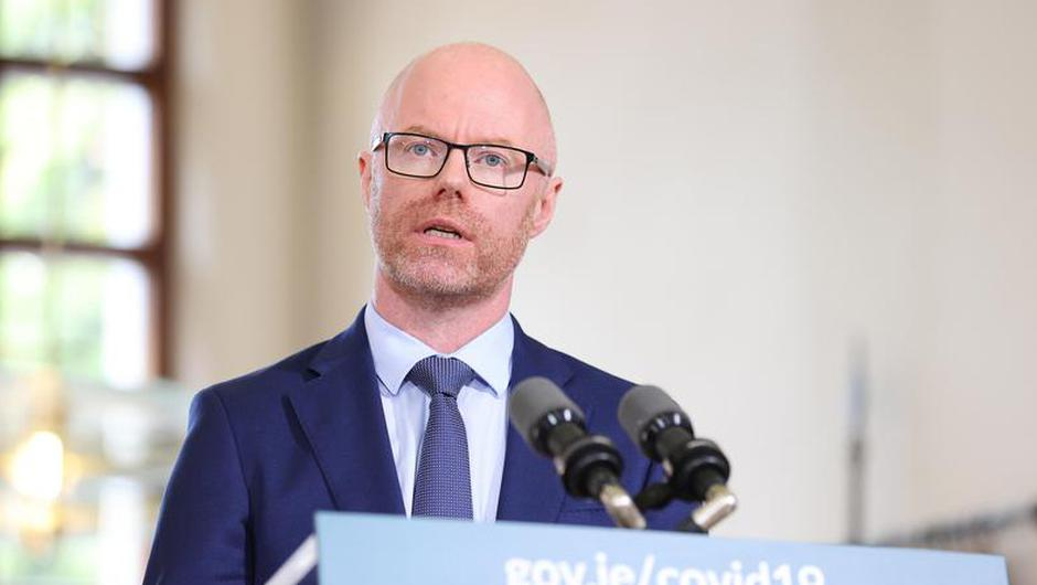 Minister for Health Stephen Donnelly