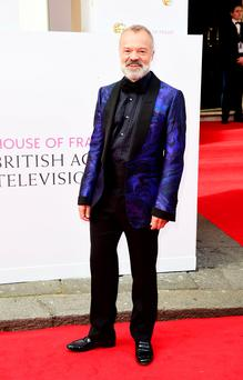 Graham Norton at the BAFTAs. Photo: PA