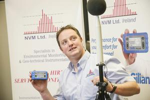 Noel Carr from National Vibration Monitoring (NVM)