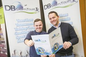 Darren Scully and David Berber from DB Sports Tours