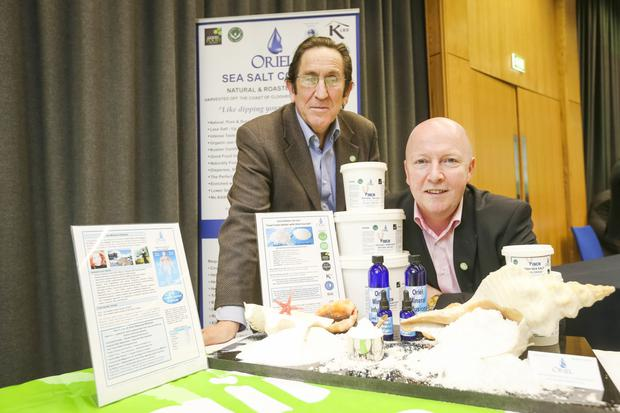 John Delany and Brian Fitzpatrick from Oriel Sea Salt Company