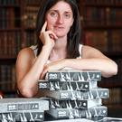 Reeling in the years: Ruth Hegarty, managing editor of the Royal Irish Academy.