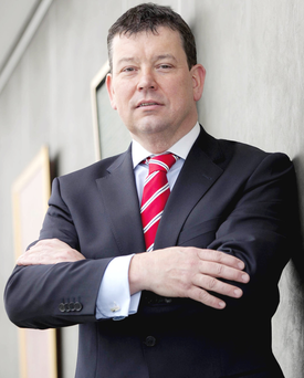AIB's head of mortgage business Ken Burke