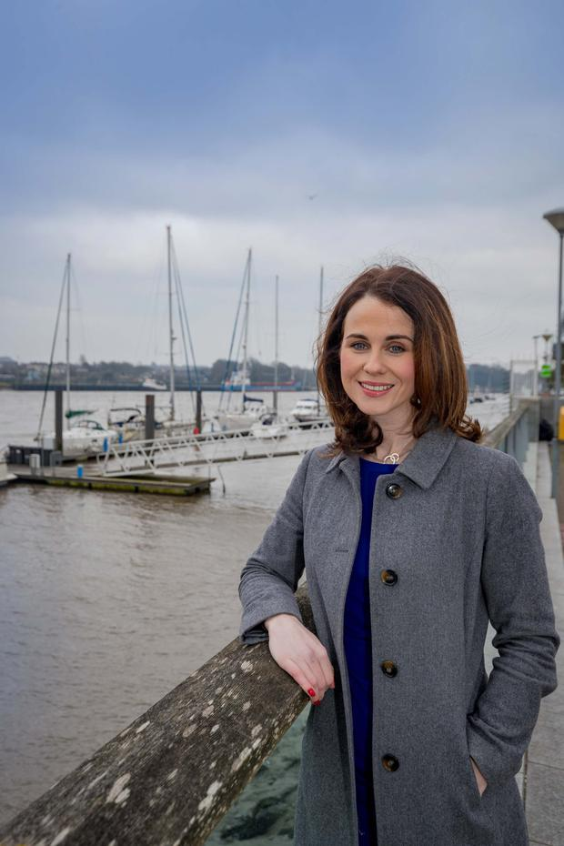 AMBITION: Maria Clifford on the quayside in Waterford, with the north quays in the background. Photo: Dylan Vaughan