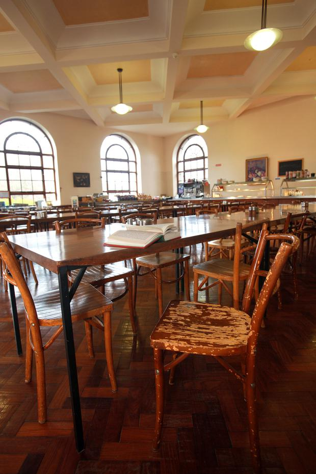 The Refectory at the Milltown Institute where Pope Francis was a resident for a couple of months in 1980