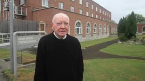 Fr James Kelly - who worked with Pope Francis in Argentina in the 1980s - at the Jesuit Centre in Millmount, Dublin