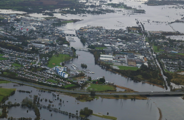 Athlone has been badly hit by flooding