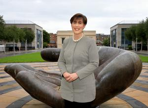 Under pressure: Minister for Education Norma Foley. Photo by Frank McGrath