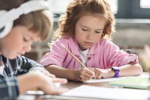 Create some work sheets for the kids so they don't fall behind in their school work