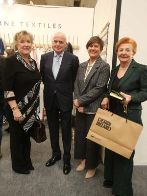 The group at Showcase, with new chair Eddie Shanahan. Photo Leon Farrell/Photocall Ireland
