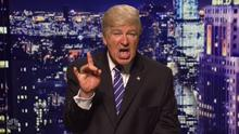 Open season: Alec Baldwin as Donald Trump