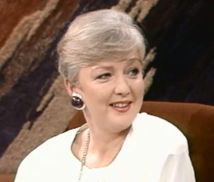 Marian Finucane on the Late Late in 1991