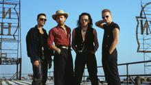 Reinvention: U2 soon after recording their critically acclaimed Achtung Baby album in Berlin