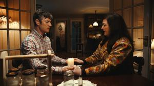 Screen-time: Maeve as driving instructor Rose (with co-star Barry Ward) in Extra Ordinary