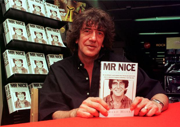 Addictive stuff: Marks' book Mr Nice sold more than a million copies