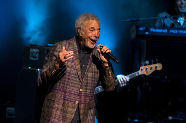 Tom Jones performing at the Olympia Theatre in Dublin in 2015. Photograph: Arthur Carron