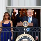 Meet and greet: Leo could bring a jar of Japanese knotweed for Melania and President Trump