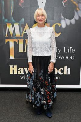 Helen Mirren (69) (pictured) and Jessica Lange (64) have signed high-profile cosmetics contracts