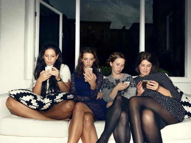 Not tonight: More 20-somethings are having less sex than previous generations, a study shows. Photo posed by models