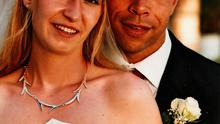 Ailish and Paul on their wedding day in 2009