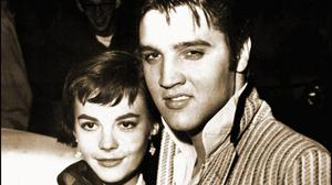 Natalie on a date with Elvis Presley