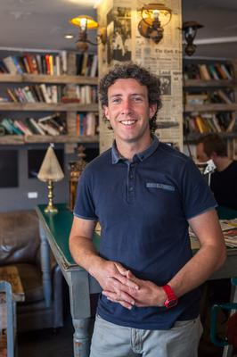 Front of house: Eoin Hurley wanted to create a place where customers are inspired at Alchemy Café, Cork. Photo: Julie Ann Matkin