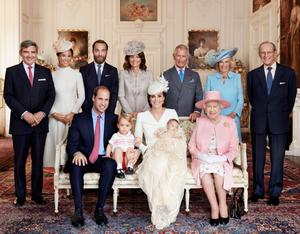 The Royal Christening party