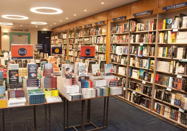 Busy: Dubray Books on Grafton Street. Photo: Ger Holland