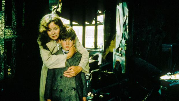 Sarah Miles and Sebastian Rice-Edwards in Hope and Glory