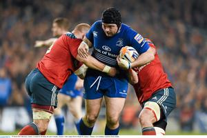 Mike Ross in action for Leinster against Munster