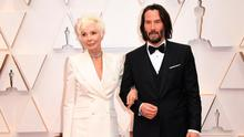 Take two: Keanu Reeves and his mother Patricia Taylor. Photo: ROBYN BECK/AFP via Getty Images