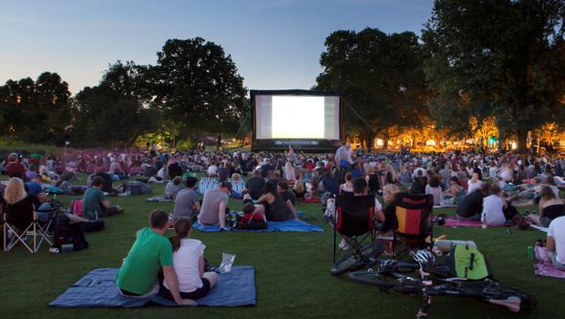 Tattersalls Country House, outdoor cinema