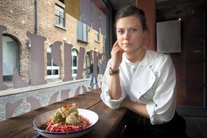 Jessie Cusack, chef at Staple Foods in Temple Bar