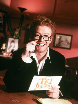Nostalgic: Chris Evans returns to Channel 4 with 'TFI Friday' for one night only, to celebrate the show's 20th birthday.