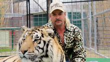 Cat person: Joe Exotic with one of his tigers