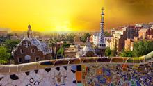 Barcelona can justly be called a fabulous city, and the view from Park Guell will take your breath away