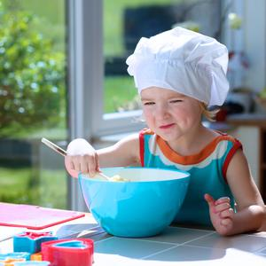 You can use the time to develop a child's interest in cooking