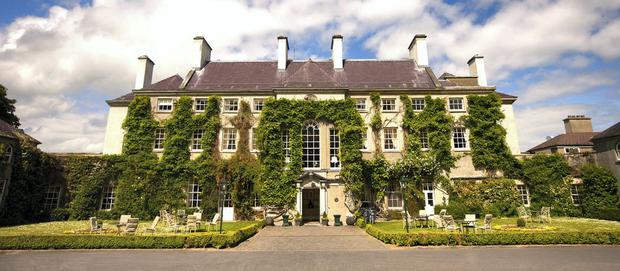 Dream venue: Mount Juliet, Co. KIlkenny, was out of the couple's reach