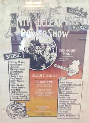A poster for the Anti-Nuclear Power Show in 1978