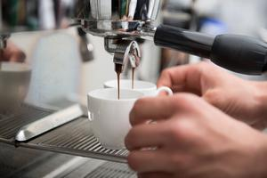 Some push-button coffee machines are turning over a staggering €1m-a-year each for busy service stations. Stock photo: ADA
