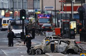 Violence: The London riots of 2011 took place during a very hot summer