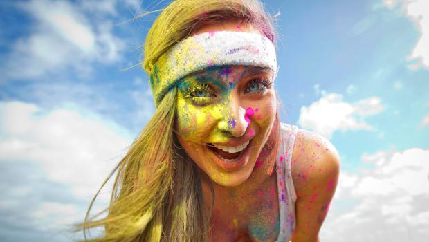 Roz Purcell - The Rainbow Run