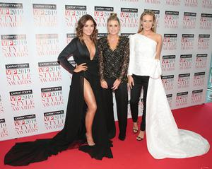 Sister act: The three Garrihy sisters at this year's VIP Style Awards