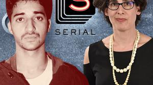 Sarah Koenig, right, is the host of 'Serial', a podcast which looked into the case of Adnan Syed, left. Syed, who has always maintained his innocence, was convicted of the murder of Hae Min Lee