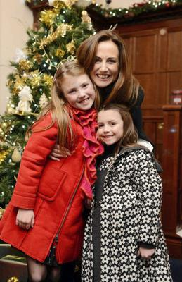 Lorraine Keane with her children.