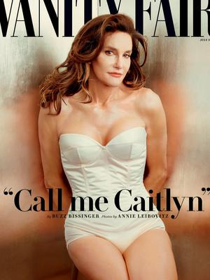 Cover shot: Bruce as Caitlyn Jenner