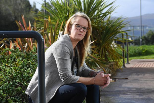 Suicide attempts: Caitriona McCaughley was given Lariam on missions to Africa in 2006 and 2009. Photo: Dominick Walsh