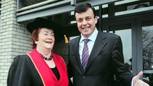 """Mary O'Rourke says her late nephew, former Finance Minister Brian Lenihan junior, """"knew what he was doing"""" during the economic crisis"""